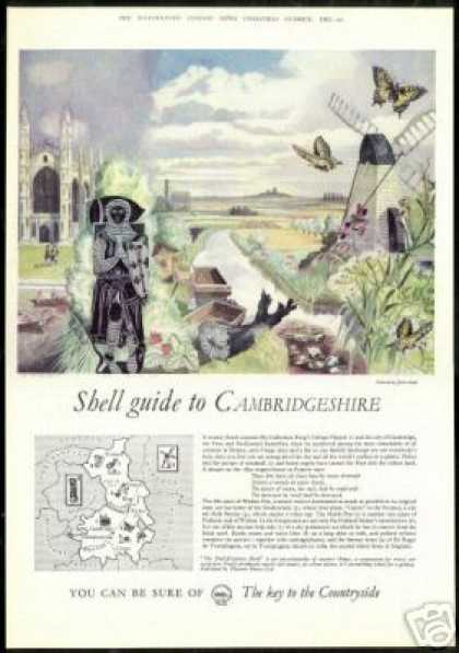 England UK Cambridgeshire John Nash Art Shell (1962)