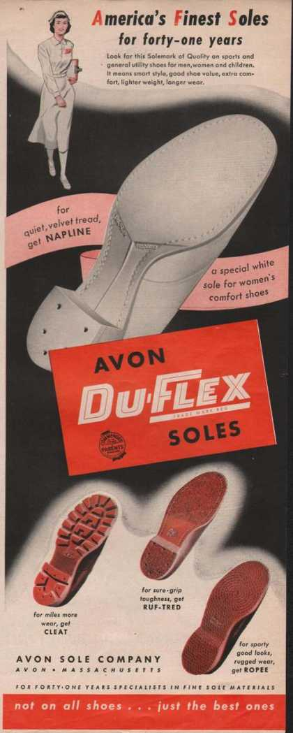 Avon Du Flex Soles for Your Shoes (1951)