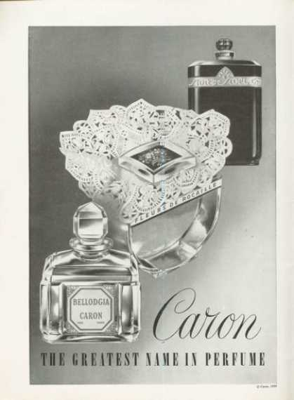 Caron Eau De Toilette – Three Bottle (1961)