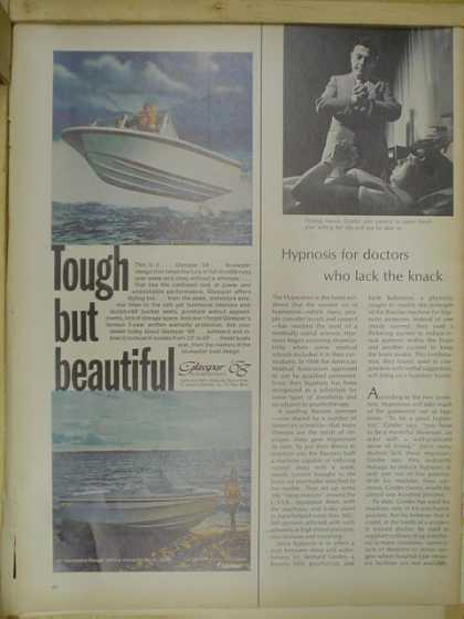Glaspar Boats. Tough but beautiful (1968)