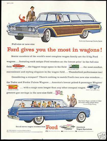 Ford Country Squire Falcon Station Wagon (1960)