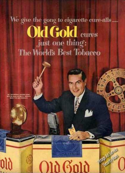 Ted Mack (amateur Hour) Photo Nice Old Gold (1951)