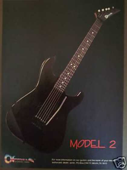 Charvel Jackson Model 2 Electric Guitar (1986)