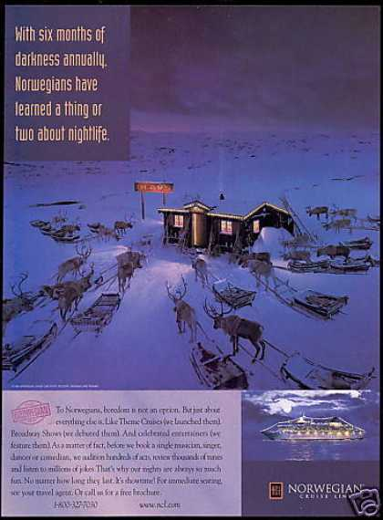 Norwegian Cruise Lines Reindeer The Olavs (1998)