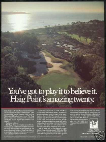 Haig Point Golf Course Paufuskie Island (1988)
