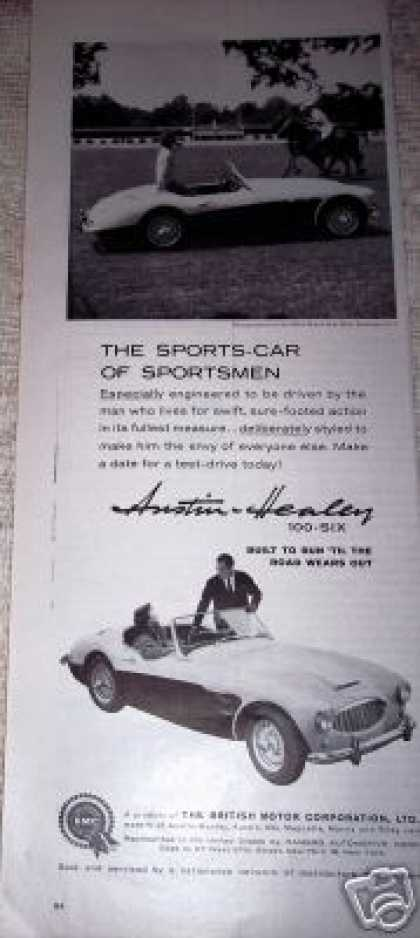 Austin Healey Sports Car Polo (1959)