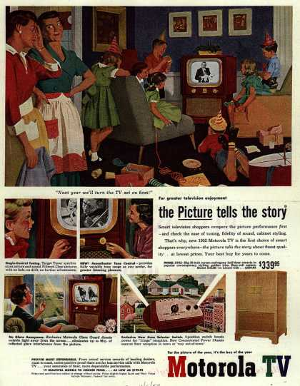 Motorola's Television – The Picture tells the story (1952)
