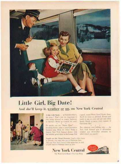 New York Central Train – Little Girl, Big Date (1948)