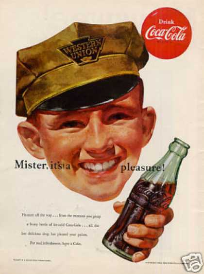 "Coca-cola Ad ""Mister, It's A... (1952)"