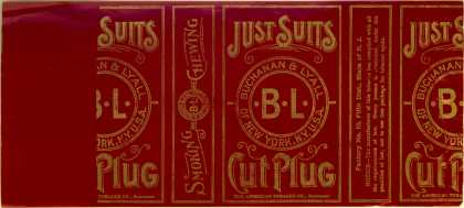 Buchanan & Lyall's Cut Plug Tobacco – Just Suits