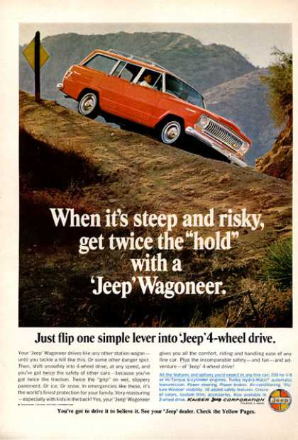 Jeep Wagoneer Station Wagon Suv (1966)