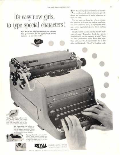 Royal Typewriter (1953)