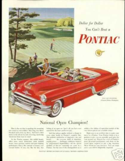 Pontiac Star Chief Convertible Golf Course Car (1954)