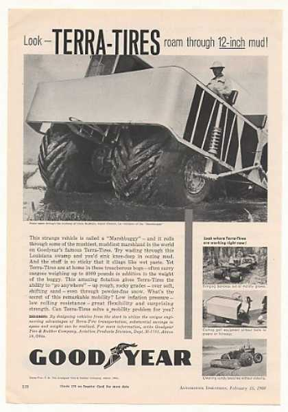 Crain Brothers Marshbuggy Goodyear Terra-Tires (1960)