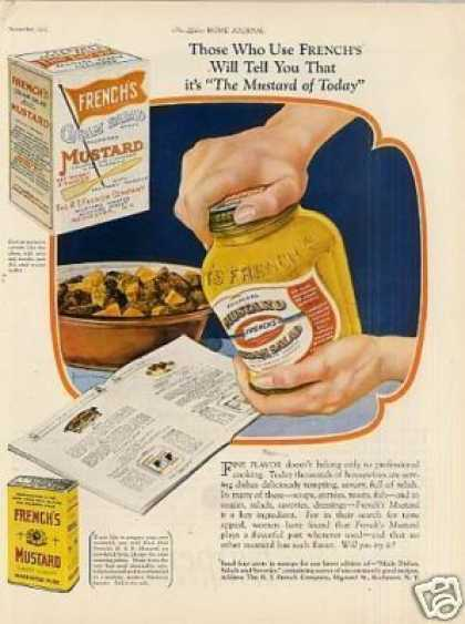 French's Mustard (1925)