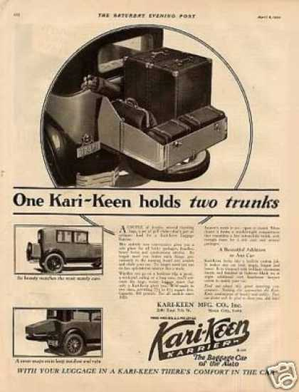 Kari-keen Luggage Karrier (1929)
