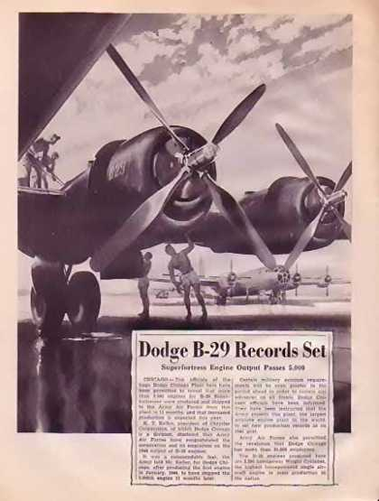 Dodge – B-29 Superfortress Engine (1945)