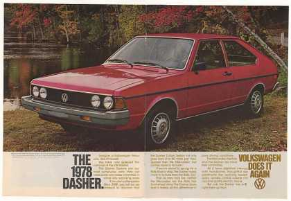 VW Volkswagen Dasher 2-Door Sedan (1978)