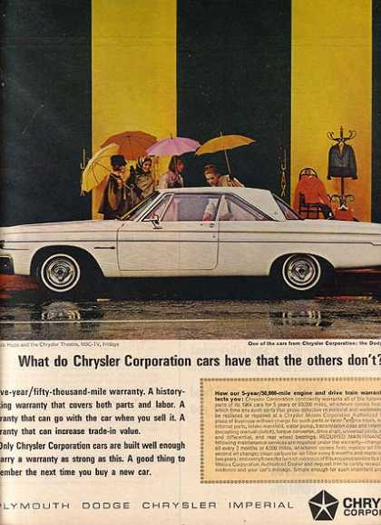 Chrysler's Dodge (1964)