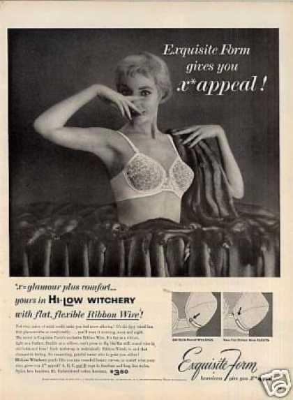 Exquisite Form Bra (1955)