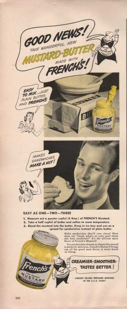 Frenchs Mustard Butter (1942)
