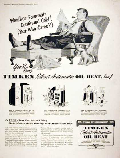 Timken Oil Heat Furnace (1950)