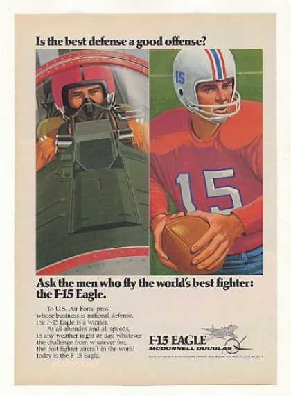 McDonnell Douglas F-15 Eagle Defense Football (1977)