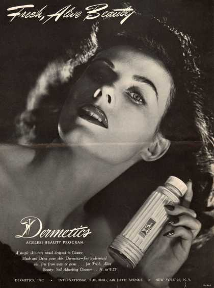 Dermetic's Soil Adsorbing Cleanser – Fresh, Alive Beauty (1947)