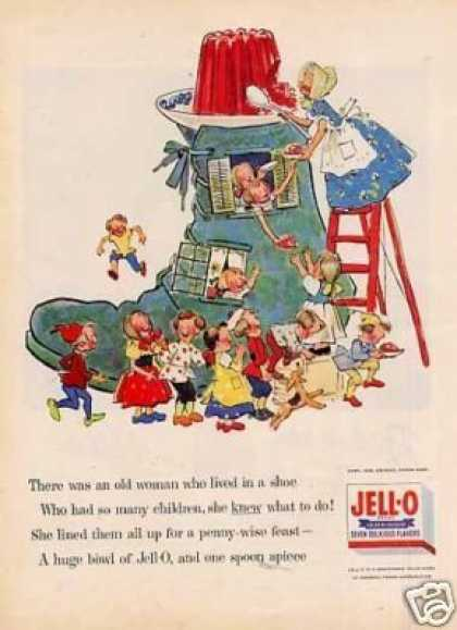 "Jello Ad ""There Was an Old Woman... (1955)"