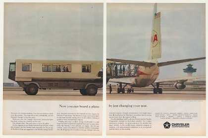 Chrysler Mobile Lounge Dulles Airport 2-Page (1962)