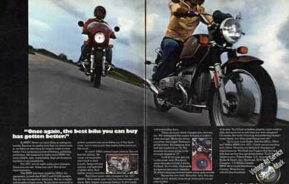 Bmw Motorcycles Best Has Gotten Better (1977)