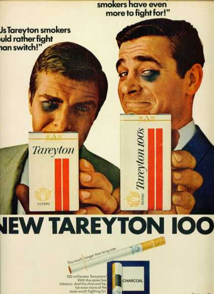 Tareyton Cigarettes & 100s Fight Than Switch C (1962)
