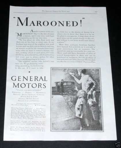 General Motors, Marooned (1929)