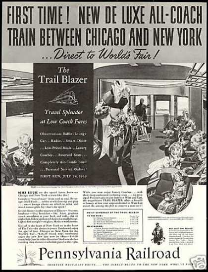 Pennsylvania Railroad Train NY World's Fair (1939)