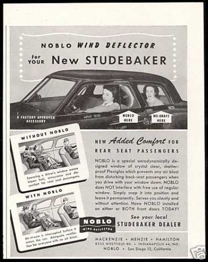 Studebaker Car Noblo Wind Deflector (1947)