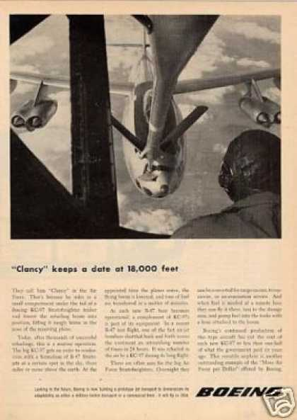 "Boeing Ad ""Clancy Keeps a Date... (1953)"