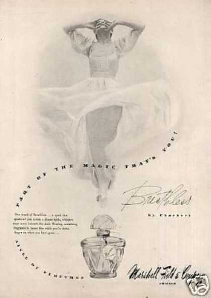 Charbert Breathless Perfume (1946)