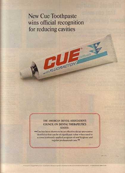Cue&#8217;s Toothpaste (1965)
