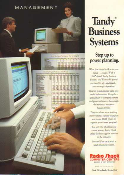 Radio Shack – Tandy Business Systems (1990)