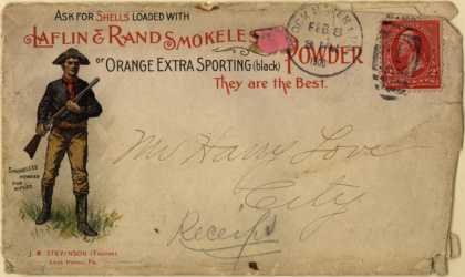 Laflin & Rand's Gun powder – Ask for Shells Loaded with Laflin & Rand Smokeless Powder (1900)