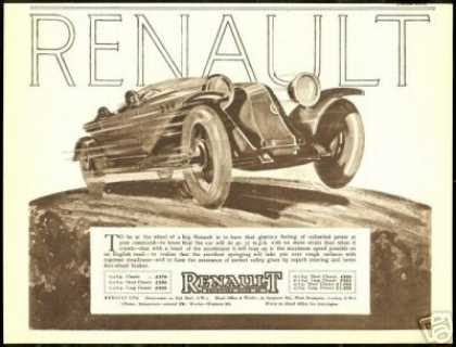 Great Renault Vintage Car Art Deco UK (1924)