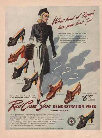 Red Cross Womens Dress Shoes (1942)