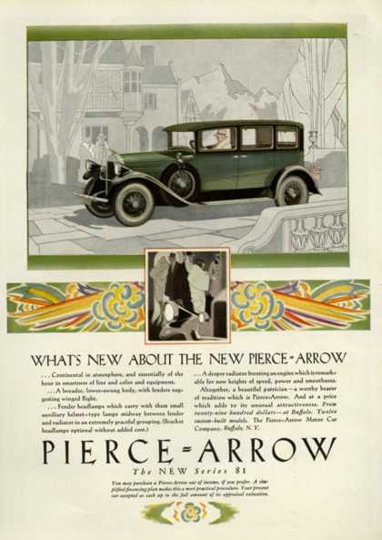 Pierce Arrow, USA (1928)