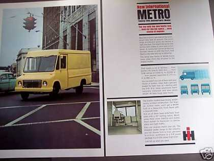 International Metro Delivery Truck Van (1965)