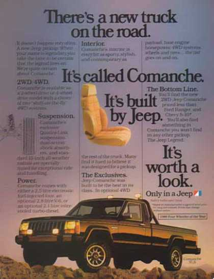Jeep Comanche XLS Car – It's worth a look (1986)