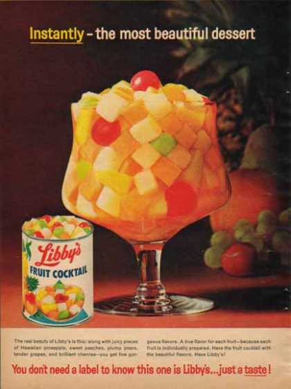 Libby's Fruit Cocktail (1963)