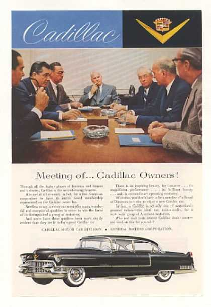 Black Cadillac Board Meeting of Owners (1955)