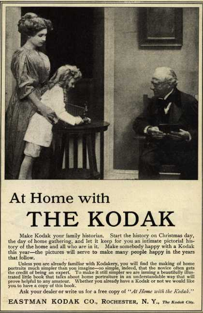 Kodak – At Home with The Kodak (1910)