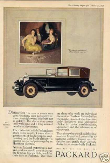 Packard Car Color (1927)