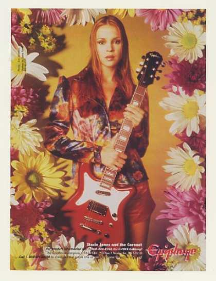 '96 Stacie Jones Epiphone Coronet Guitar Photo (1996)